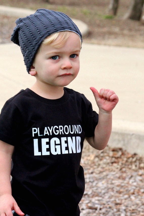 Playground Legend, Funny Boy Shirt, Trendy Toddler, Kindergarten Shirt, Toddler Boy Shirt, Baby Boy Shirt, Boy Shirt, Toddler Boy, Baby Boy