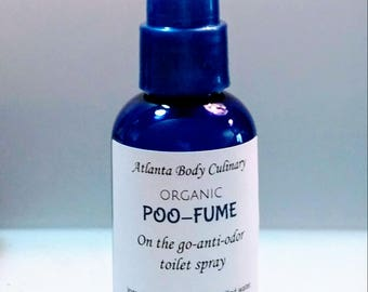 PooFume organic toilet spray vegan toilet spray on the go poo spray travel toilet spray