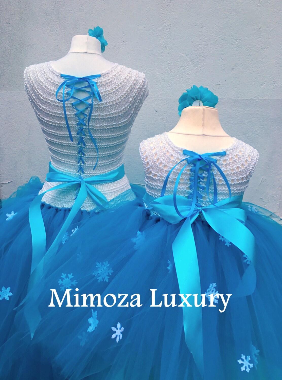 Mother Daughter Matching Dresses Adult tutu dress, Bridesmaid dress ...