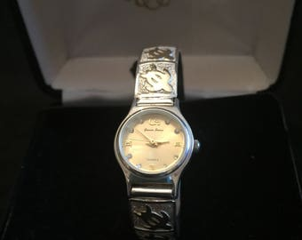 Sterling Watch, Water Resistant, Accurate, Blacelet Style, Vintage, Gassen James, FREE SHIPPING