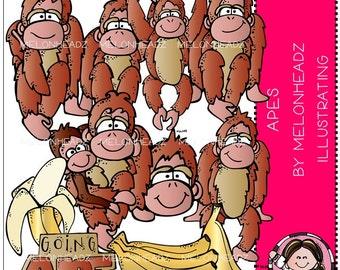 Apes clip art