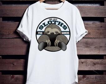 Gamer Sloth T-shirt