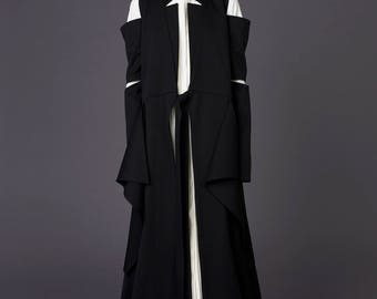 Wool coat / Long coat / Winter coat / Wool cardigan / Wool fabric / Cardigan / Jacket /Blazer / Evening gown / Plus size / Gift for her