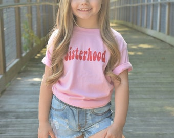 Girls Sisterhood Tee