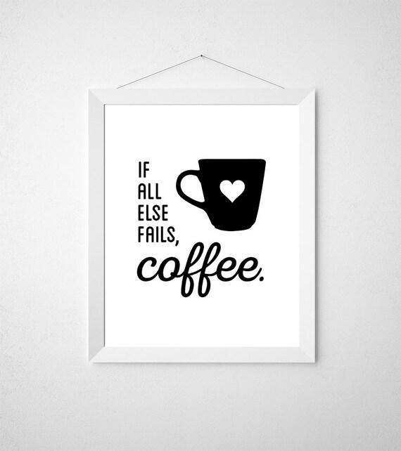 Kitchen Coffee Signs: Coffee Signs Coffee Station Kitchen Printable Kitchen