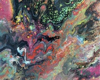 Enigma - Acrylic Painting