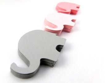 Elephant Paper Cut Outs set of 25