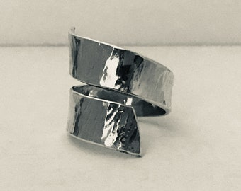 Wrap around Sterling Silver ring