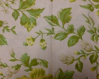 Ivory bouquet fabric in yellow and green flowers (4)