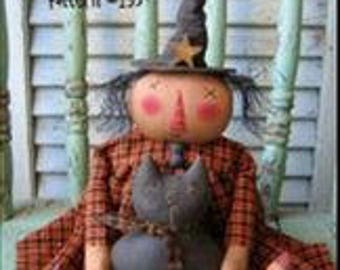 Primitive Cloth Doll PATTERN - Lily & Licorice - CK135