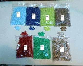 Fairy Garden Rock/Choice of 7 Colors/3 Oz..Bags