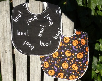 Baby Bib Set - Happy Halloween (#151)