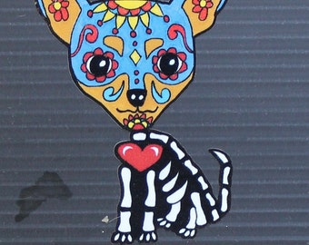 Day of the Dead Chihuahua #124