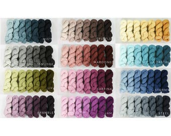 FAVE sock GRADIENT SET: Dyed to order
