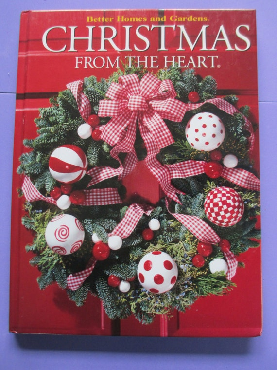 Diy Christmas From The Heart Craft Book Better Homes And Garden Hardbound  Craft Book 160 Pages From THEFEATHERMERCHANT On Etsy Studio