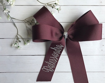 Ribbon Personalized Bow