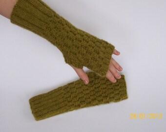 Sweet treat fingerless gloves pattern