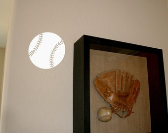 Baseball Vinyl Wall Decal