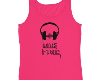 Love Music Tanks