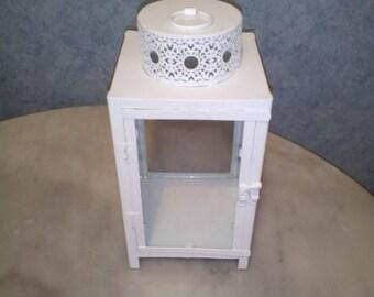 Gorgeous white candle Lantern