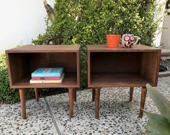 MID CENTURY Modern Style Pair -Both Available- of Nightstands