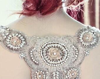 Wedding Dress shoulder   - Lamas Shoulder Candy