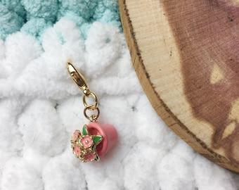 Flower Pot Stitch Marker // Crochet or Knit Progress Keeper