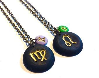 Astrology Necklace, Zodiac Jewelry, Constellation Necklace, Aries Gift, Personalized Jewelry, Taurus Gemini Cancer Zodiac Necklace