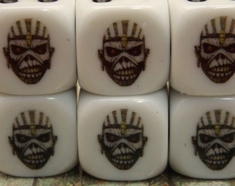 Eddie the Head from Book of Souls from Iron Maiden Dice Set 6D