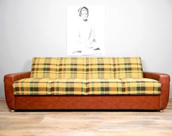 Kult-Sofa DDR 1960s Schlafsofa Daybed Couch