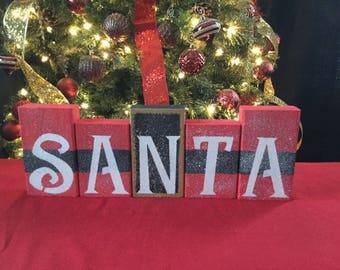 Santa Beltbuckle Blocks