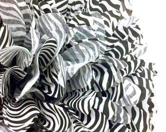Zebra black and white pom pom,party poms,birthday pompoms,first birthday,baby shower,hanging poms,nursery pom pom,pompoms,party decorations