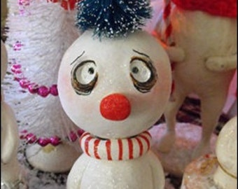 Christmas Grimmy snowman made to order