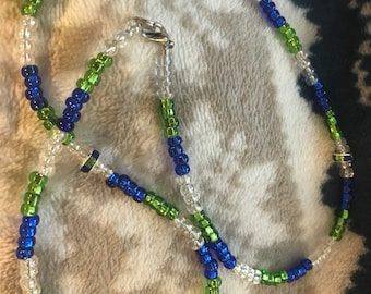 Seahawks/Origional/one of kind necklace