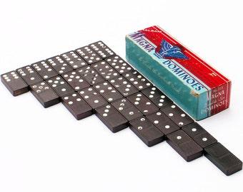 Dominoes Wood Tile Game