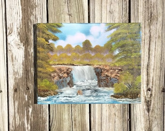 Original Waterfall Painting