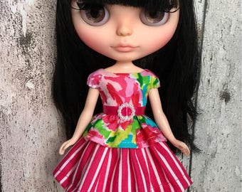Blythe skirt and top
