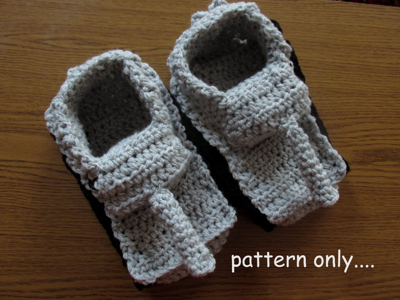 Tiger 1 Slipper Crochet Pattern, Diy Crochet Tank Slippers, Panzer ...