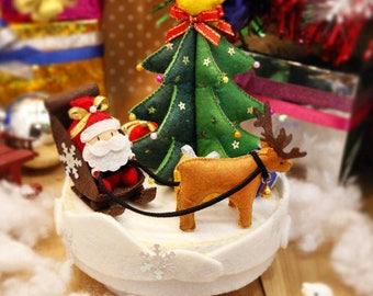 PDF Pattern & Instructions Christmas Mysterious Gifts Music Box