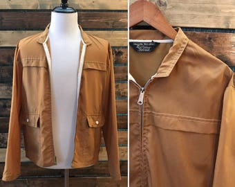 Vintage 70's Sears mens store  coaches jacket