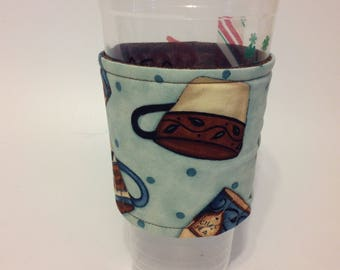 coffee cozy, coffee cup sleeve, cup cozy, cup sleeve, insulated cup sleeve, cup holder, eco friendly
