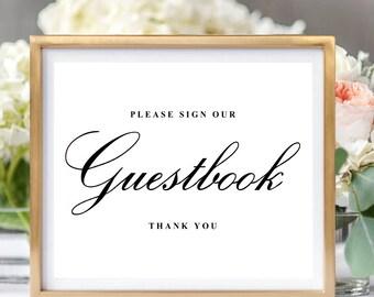 Wedding Signs, Wedding Signs Printable, Wedding Signage, Wedding Sign in Book, Wedding Sign Guestbook Printable, Wedding Sign Guest Book