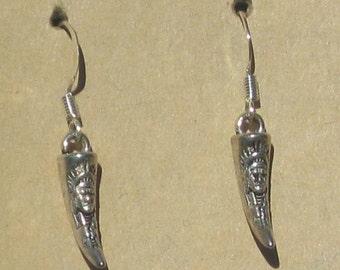 Tooth Earrings