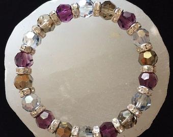 Mystic Angel Swarovski Crystal Healing Bracelet