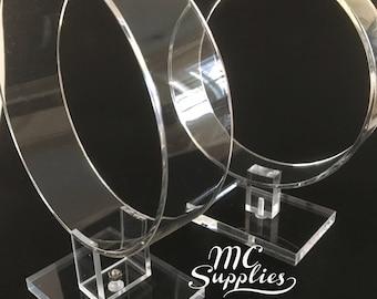 Headband holder,acrylic display,acrylic headband display,single headband stand,craft fairs,hair accessory display.