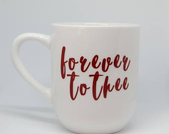 Forever To Thee Vinyl Decal