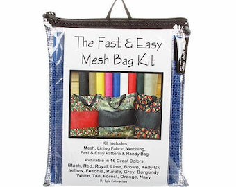 Mesh Bag Kit Fast and Easy by Lyle Enterprises