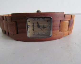 Unisex Wooden Watch Band Minimalist Watch Made out of Wood Watch womens wood watch womens Wrist watch  mens wooden watch Mens wrist watch