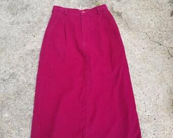 Vintage L.L. Bean corduroy skirt