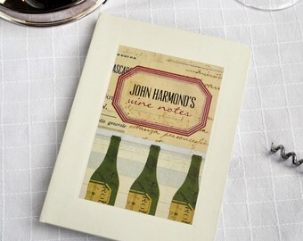 Personalised Wine Notebook (2 designs available)